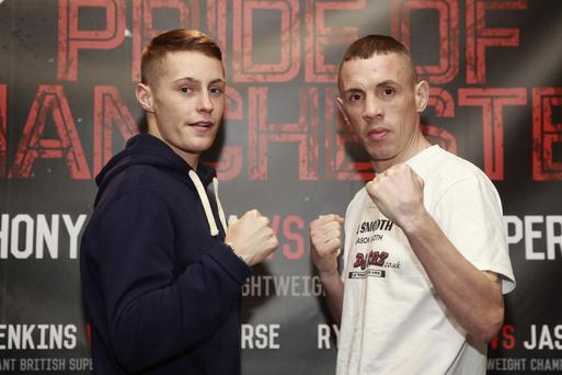 Prize fighters: Belfast ace Ryan Burnett is ready to take on Jason Booth for the vacant British bantamweight title