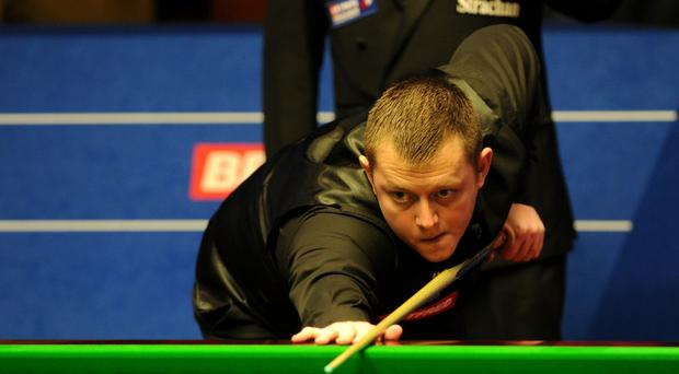 Mark Allen was a winner in York on Thursday