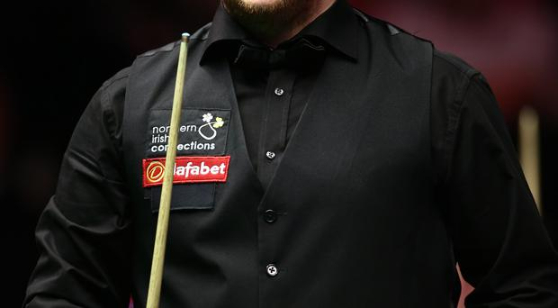 On target: Mark Allen started his UK Championship in style