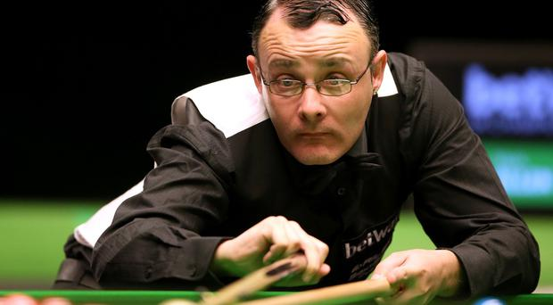 Martin Gould, pictured, beat Mark Allen at the UK Championship in York