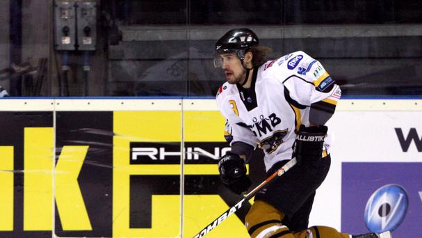 Matthew Myers scored for the Nottingham Panthers