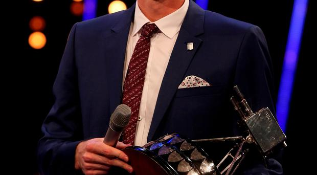 Top man: Andy Murray lifted the SPOTY crown in Belfast