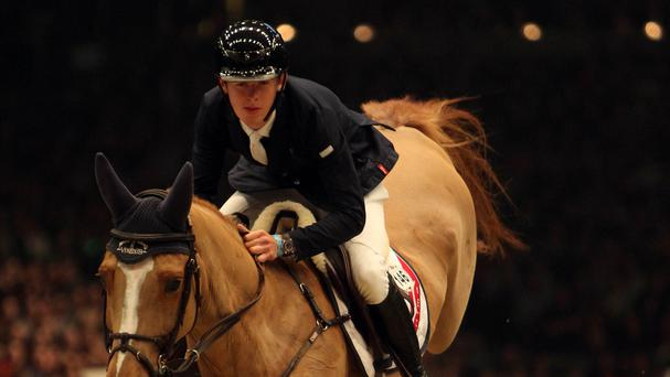 Bertram Allen and Quiet Easy were disqualified from the Olympia Grand Prix