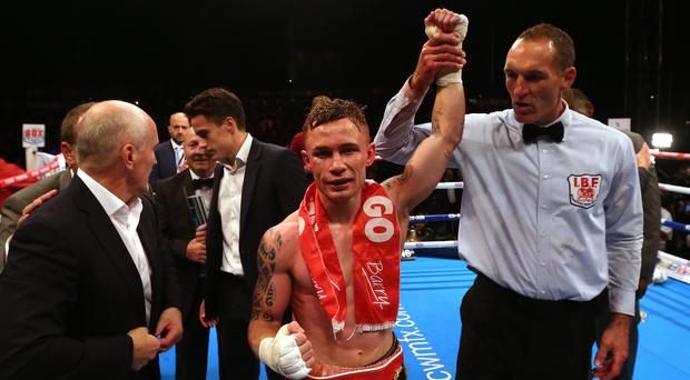 Carl Frampton is the reigning IBF super-bantamweight champion