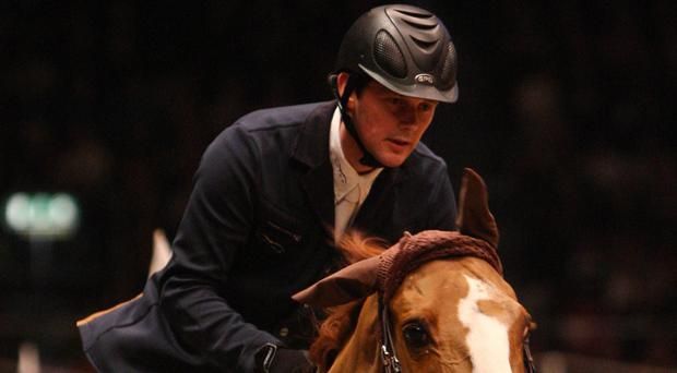 Ireland's Billy Twomey won the Equestrian.com Liverpool International Horse Show grand prix