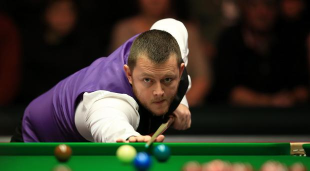Mark Allen, pictured, beat Shaun Murphy in the first round of the Masters