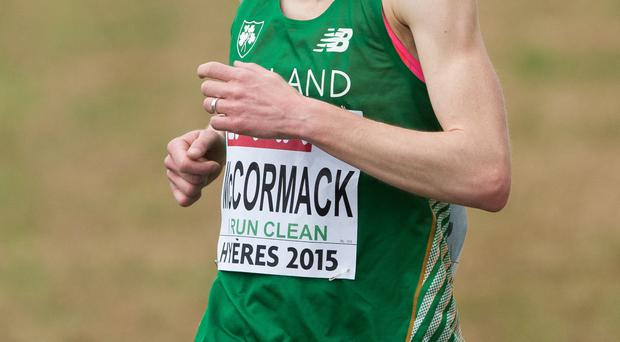 On form: Fionnuala McCormack had a strong run