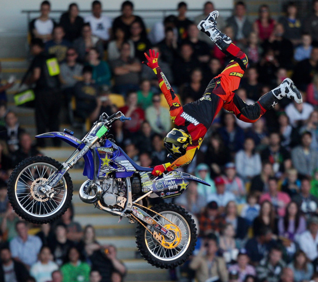 New ground: Nitro Circus is heading for the new Windsor Park