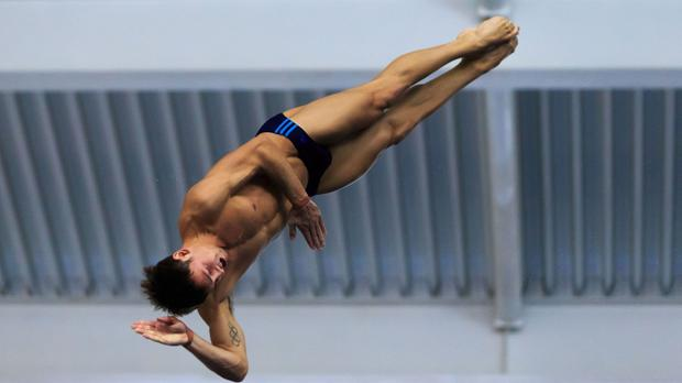 Tom Daley, pictured, and Dan Goodfellow have booked their place at the Rio Olympics