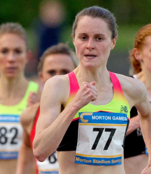 Top form: Ciara Mageean is back in action at weekend