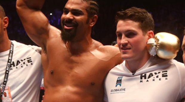 Dynamic duo: David Haye has hailed Shane McGuigan after teaming up with the coach in his pursuit of further World glory