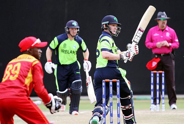 Will power: Ireland skipper William Porterfield is confident his team can progress from group