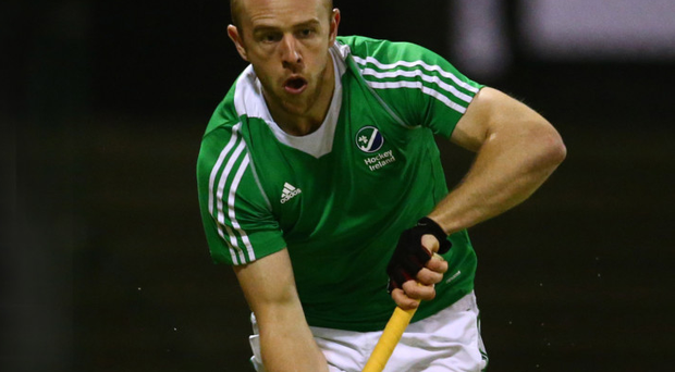 Commitment: Eugene Magee joined up with the Irish team less than a week after his marriage to Aoibhne and then following a burglary at their house