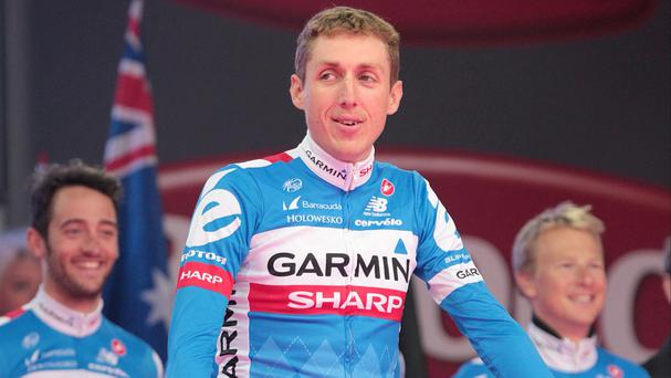 Dan Martin finished third in La Fleche-Wallonne