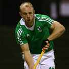 Not there: Eugene Magee missed the game because of the EuroHockey League semi-finals