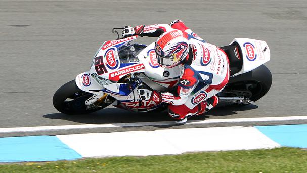 Jonathan Rea finished third in Sepang