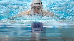 Fiona Doyle secured a place in the final of the 100m breaststroke at the European championships