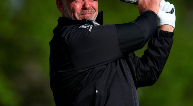 Ups and downs: Darren Clarke is accepting the silly errors in his game because the Ryder Cup is his main priority