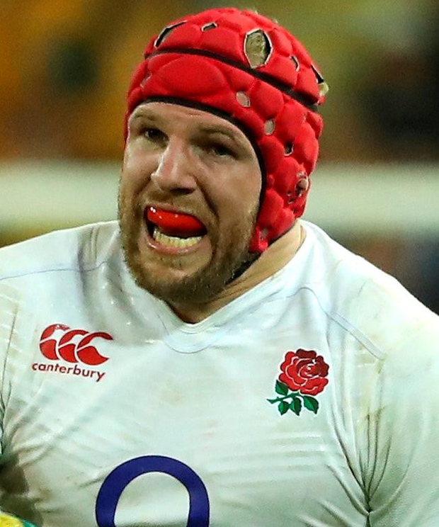 Key player: James Haskell had a superb game for England in Brisbane