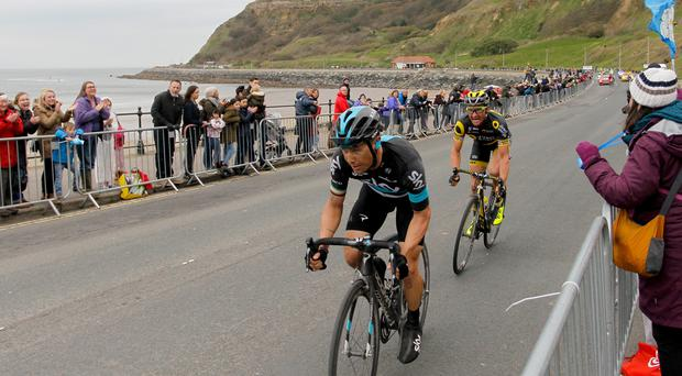 Nicolas Roche will leave Team Sky for BMC at the end of the season