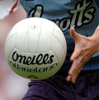 Wolfe Tones and Forkhill will meet at the Athletic Grounds on Monday night (stock photo)