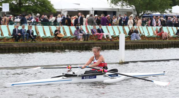 Rachel Morris won gold for Great Britain in Rio on Sunday