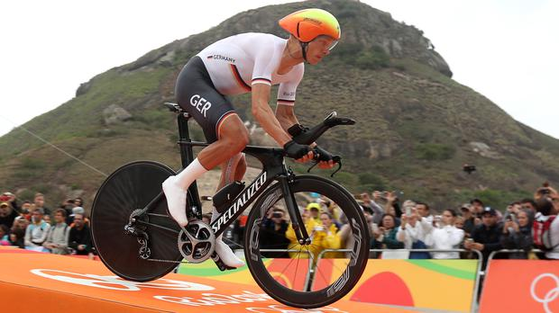 Martin equals Cancellara's record four time trial golds