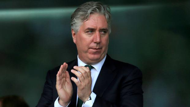 FAI chief John Delaney has stepped down from his position at the Olympic Council of Ireland