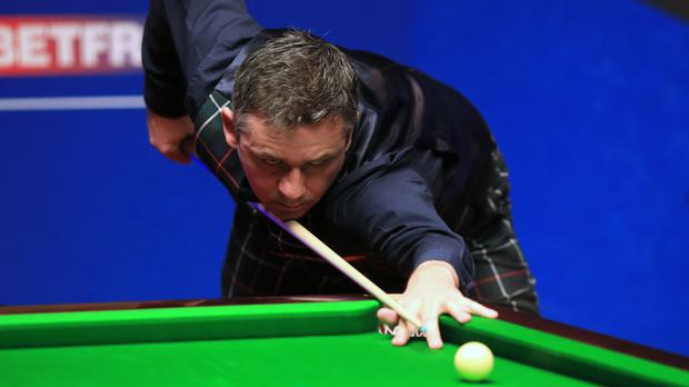 Alan McManus beat fellow Scot Stephen Maguire
