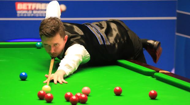 Kyren Wilson is through to the last eight of the Northern Ireland Open after beating Ronnie O'Sullivan