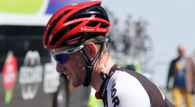 Sam Bennett won stage three of Paris-Nice