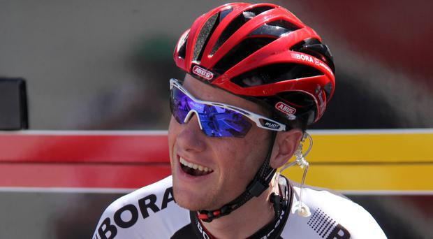Ireland's Sam Bennett was victorious at the Tour of Turkey for a second straight day on Wednesday