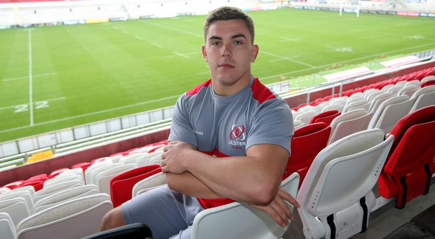 Fresh face: Adam McBurney is ready for his B&I Cup debut