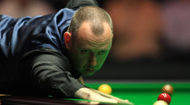 Mark Williams has reached the last four at the Northern Ireland Open