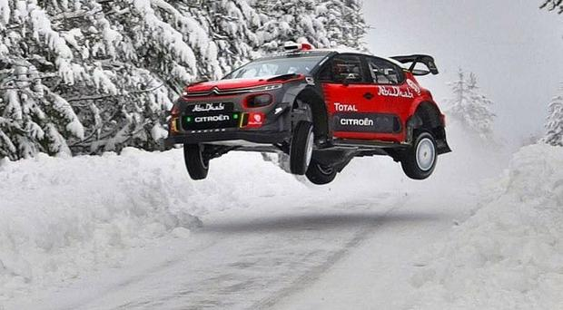 Neuville edges clear of Breen towards Rally Sweden victory