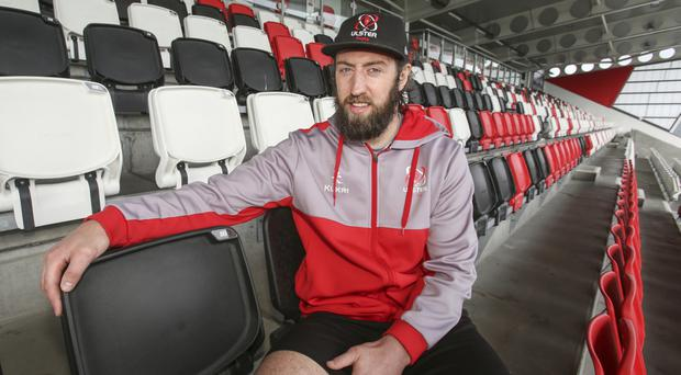Fierce hunger: Pete Browne's experience will be vital to Ulster 'A' in their B&I Cup quarter-final