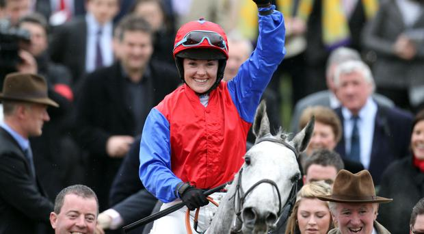 Top jockey: Katie Walsh has Grand National experience