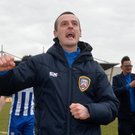 Good impression: Oran Kearney was close to landing the St Mirren job