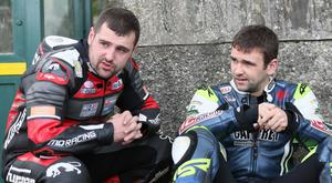 Michael Dunlop (left) with his brother William.