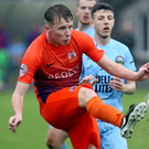 Stepping up: Caolan Marron has impressed for Glenavon