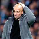 Staying focused: Pep Guardiola knows nothing is decided in November