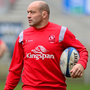 Helping hand: Rory Best has no issues listening up