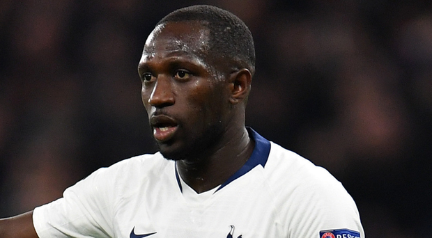 Latest casualty: Spurs' Moussa Sissoko is on the injured list