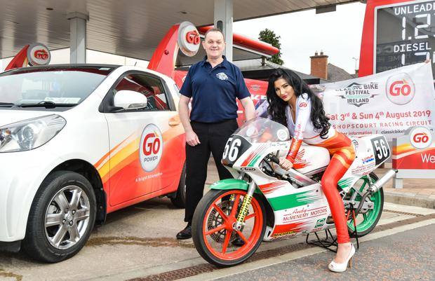 Festival fever: Classic Bike Festival Ireland promoter Phillip McCallen launches Go Fuels title sponsorship