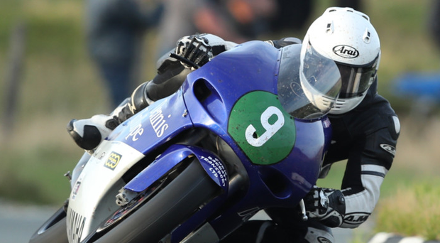 Cloud nine: James Hind bagged another Isle of Man win yesterday