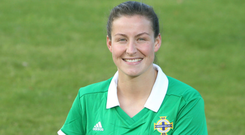 National question: Demi Vance has made 58 appearances for Northern Ireland