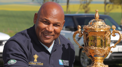 Legend: Chester Williams has died at just 49 years of age