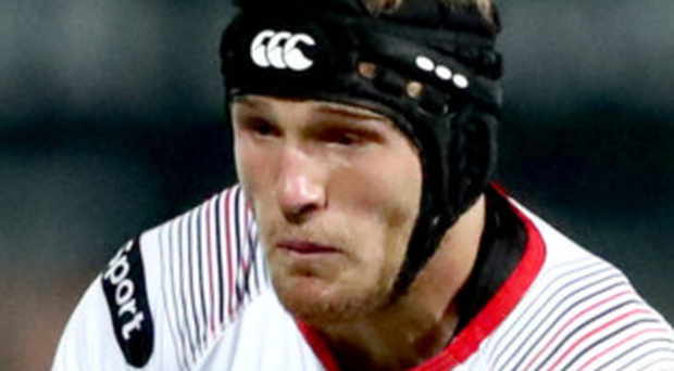 Centre stage: Angus Curtis will start for Ulster A