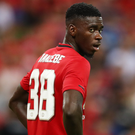 Firing back: Axel Tuanzebe