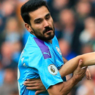Sore point: Ilkay Gundogan